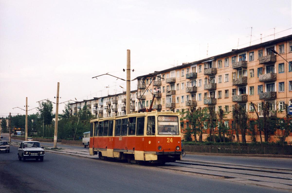 Ачинск. 71-605 (КТМ-5) №24