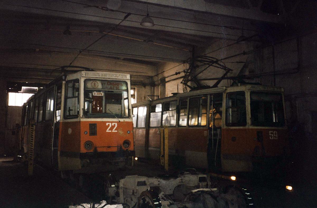 Ачинск. 71-605 (КТМ-5) №22, 71-605 (КТМ-5) №59