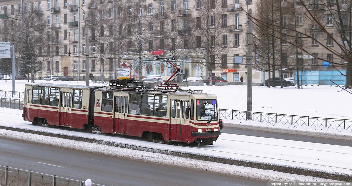 Санкт-Петербург. ЛВС-86К №5029