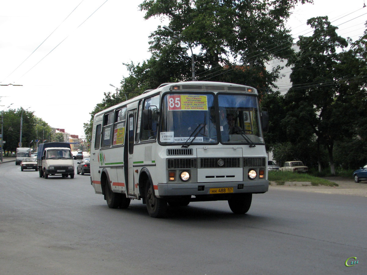 Орёл. ПАЗ-32053-110-07 нн488