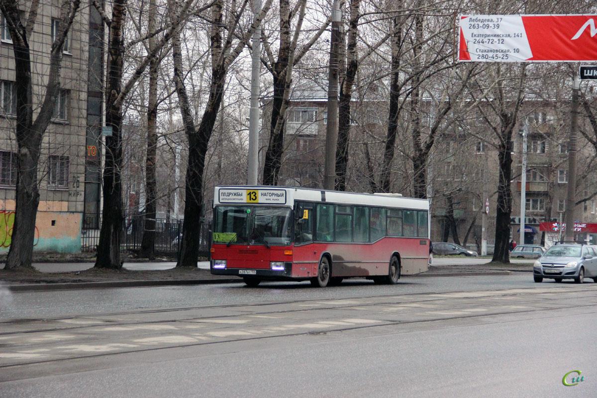 Пермь. Mercedes-Benz O405N а287вт