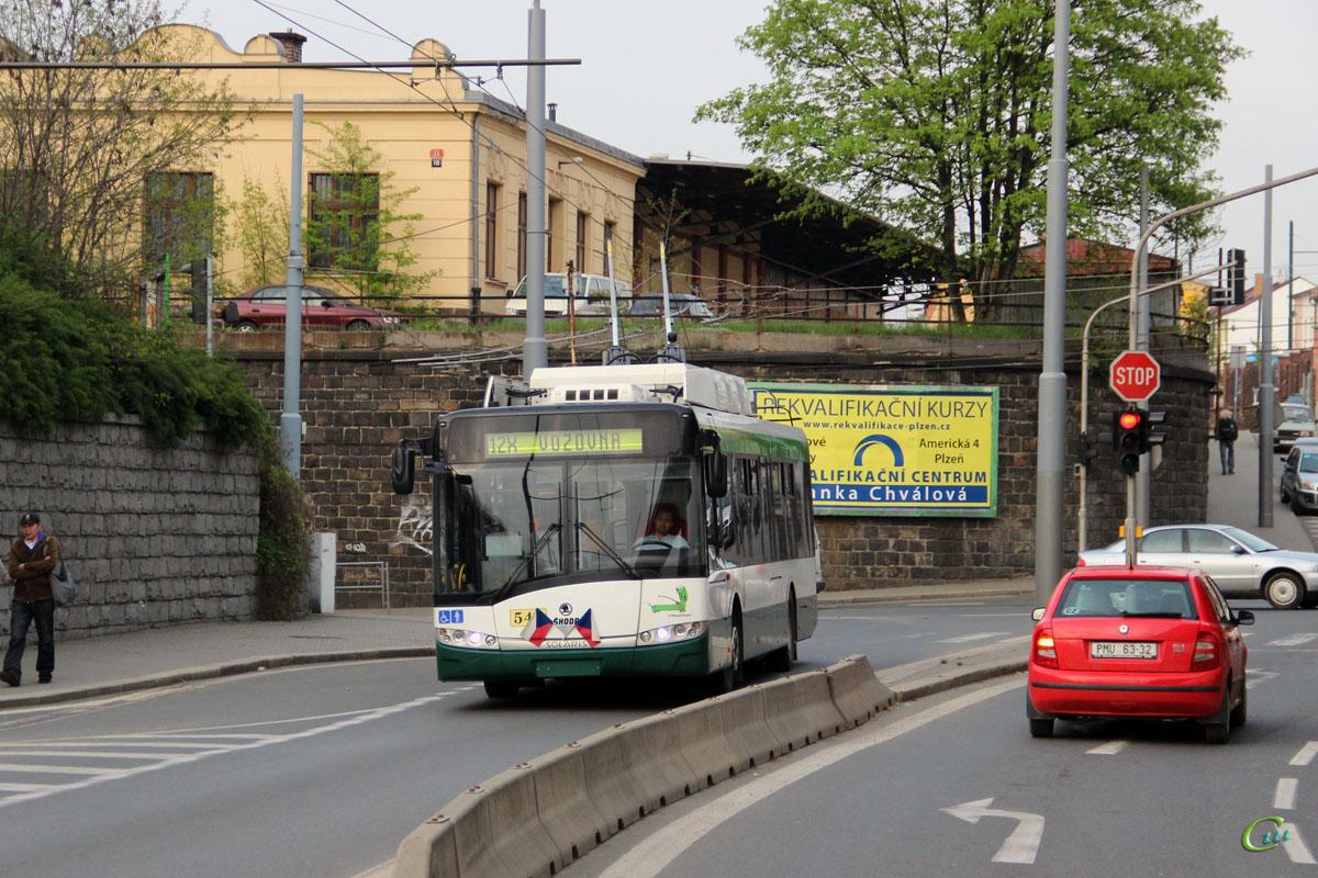 Пльзень. Škoda 26Tr Solaris №546