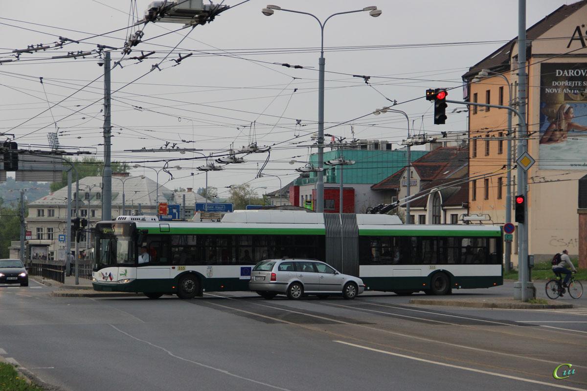 Пльзень. Škoda 27Tr Solaris №535