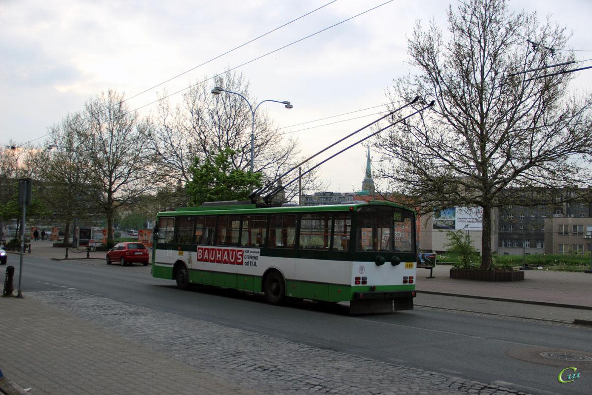 Пльзень. Škoda 14TrM №449