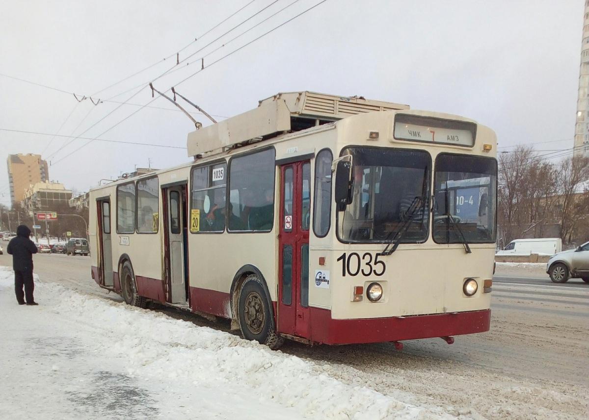 Челябинск. ЗиУ-682Г00 №1035