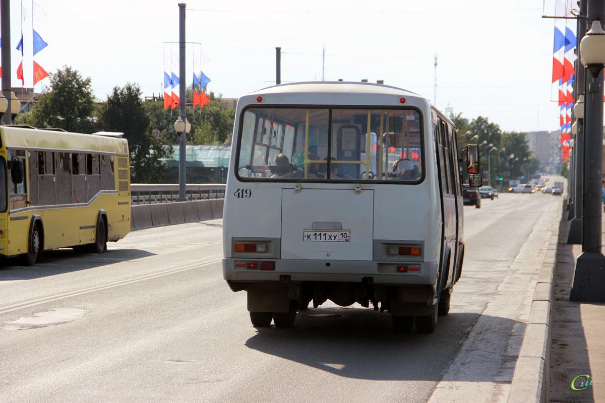 Псков. ПАЗ-32054 к111ху