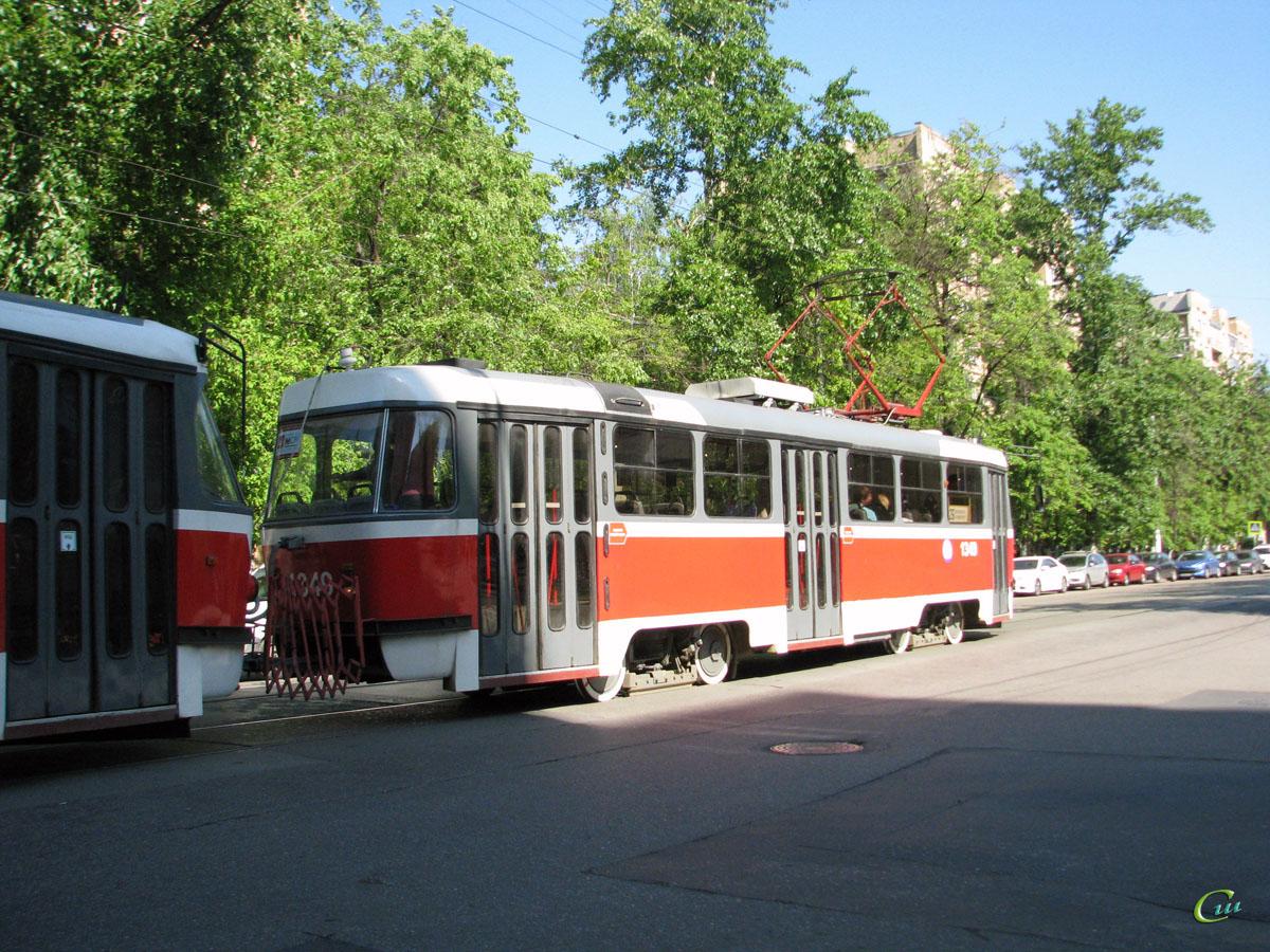 Москва. Tatra T3 (МТТЕ) №1349