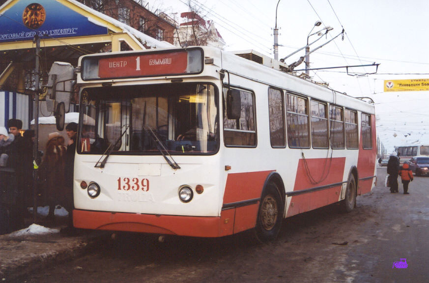 Ижевск. ТролЗа-5264.01 Столица №1339