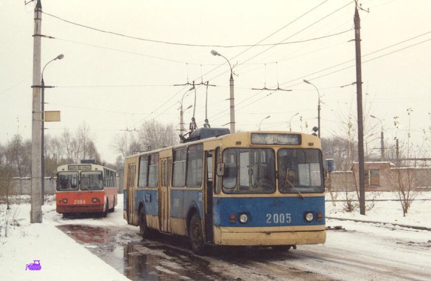 Ижевск. ЗиУ-682В00 №2005, ЗиУ-682В00 №2084