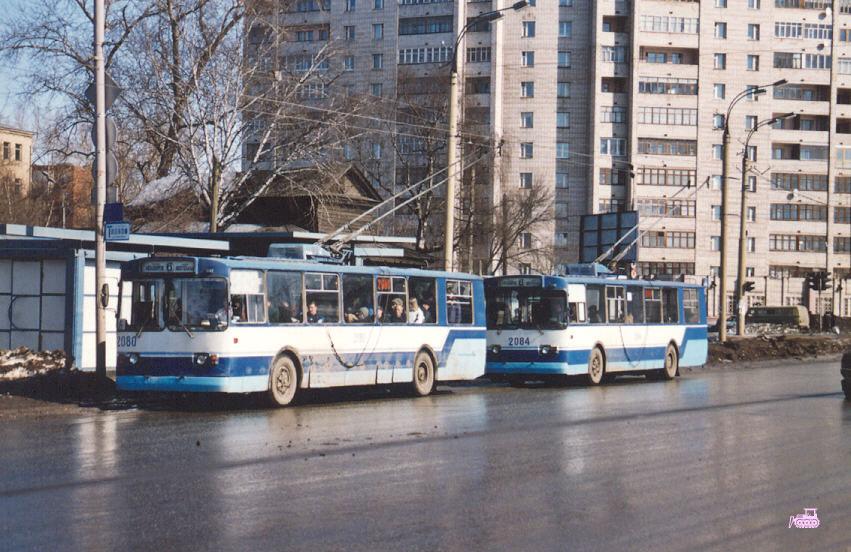 Ижевск. ЗиУ-682В00 №2080, ЗиУ-682В00 №2084