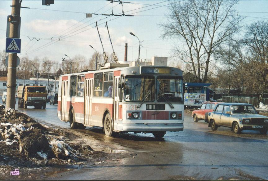 Ижевск. ЗиУ-682Г-014 (ЗиУ-682Г0Е) №2136