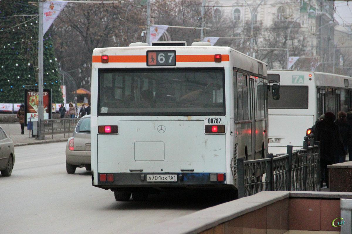 Ростов-на-Дону. Mercedes-Benz O405N а701ок
