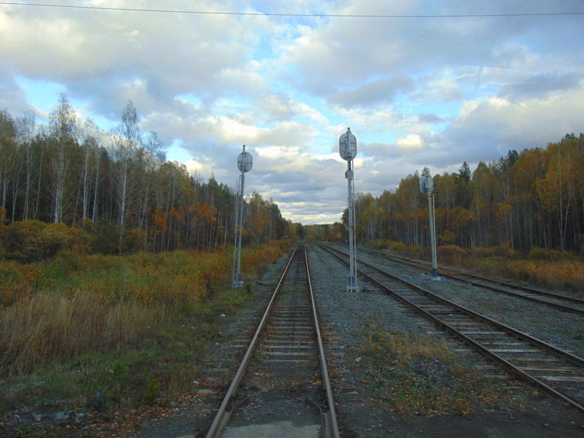 Челябинск. Разъезд Пургино