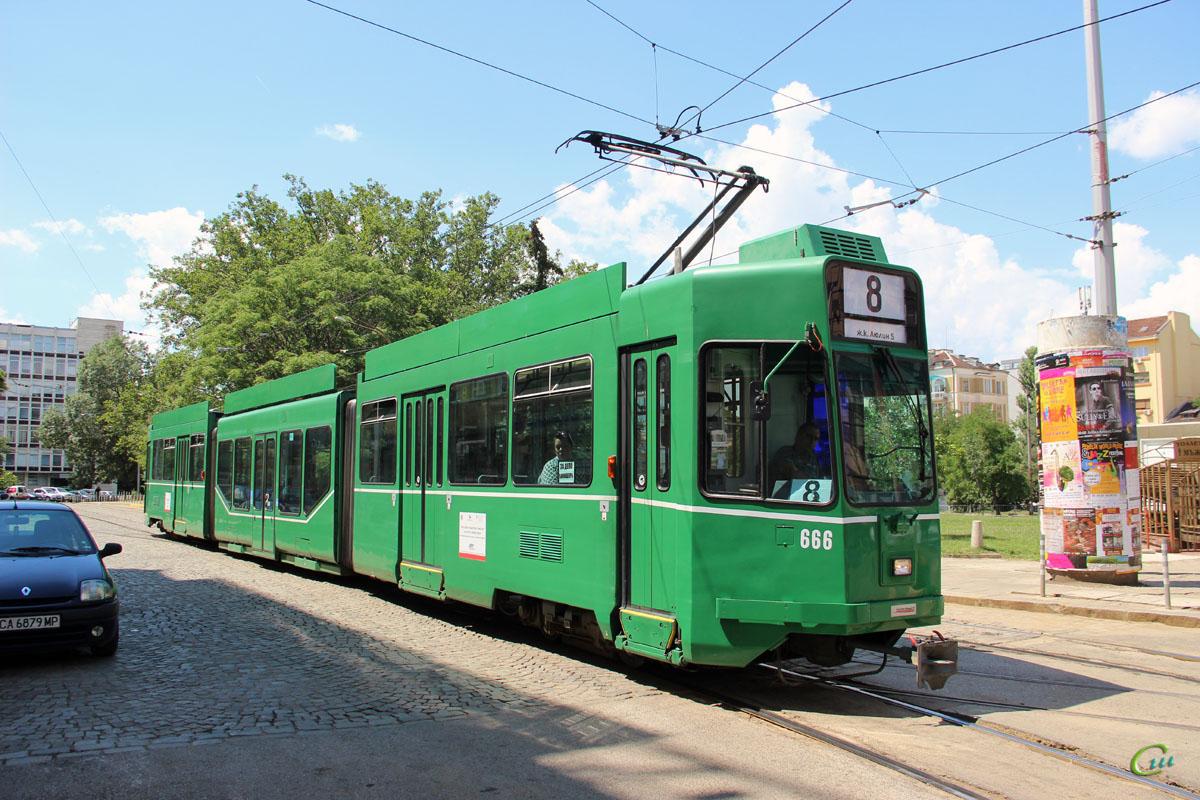 София. Be 4/6 S Schindler/Siemens №666
