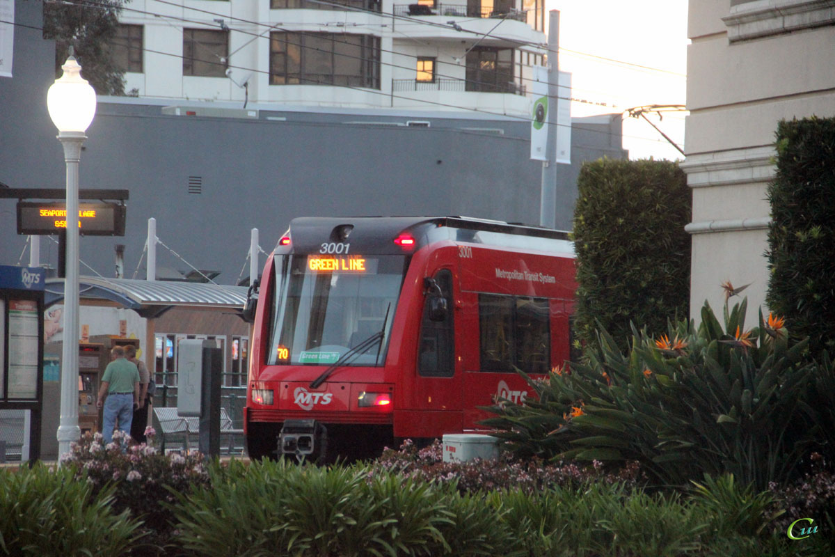 Сан-Диего. Siemens Avanto/S70 №3001