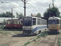 Москва. 71-608КМ (КТМ-8М) №3200, Tatra T3SU №3703, ГС-4 (КРТТЗ) №3466