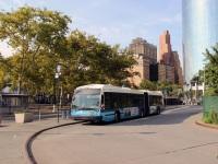 Нью-Йорк. Novabus LFS Artic AU1596