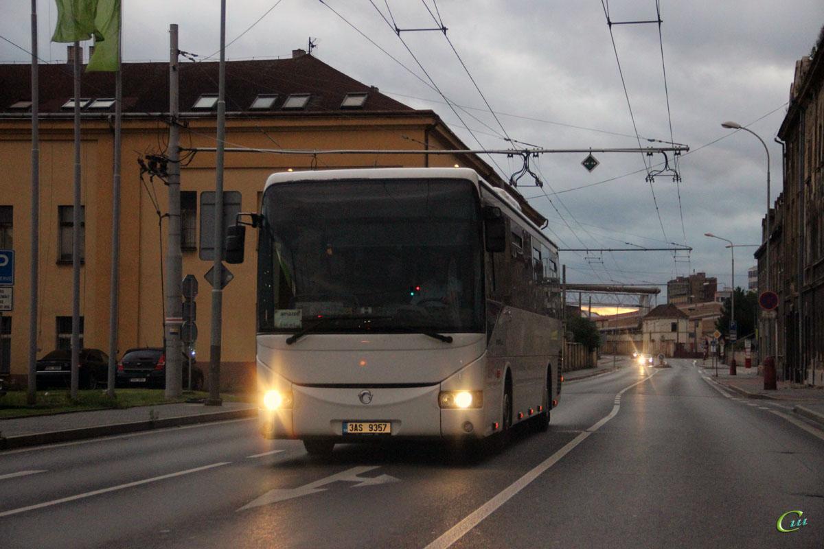 Усти-над-Лабем. Irisbus Crossway 12M 3AS 9357