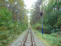 Челябинск. Входной светофор Н станции Лесная