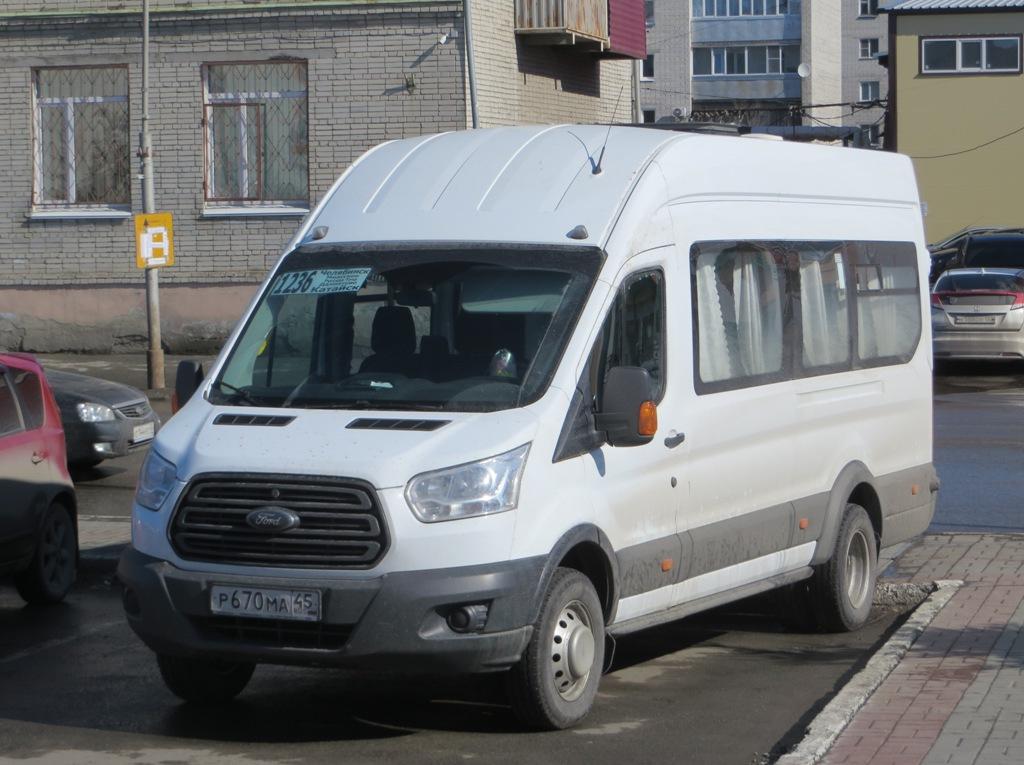 Курган. Ford Transit FBD р670ма