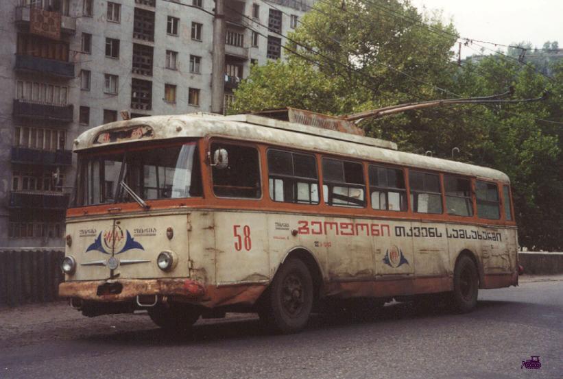 Чиатура. Škoda 9Tr №58