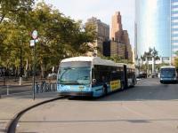 Нью-Йорк. Novabus LFS Artic AT9953