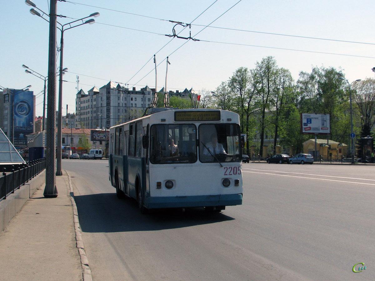 Казань. ЗиУ-682В-012 (ЗиУ-682В0А) №2205