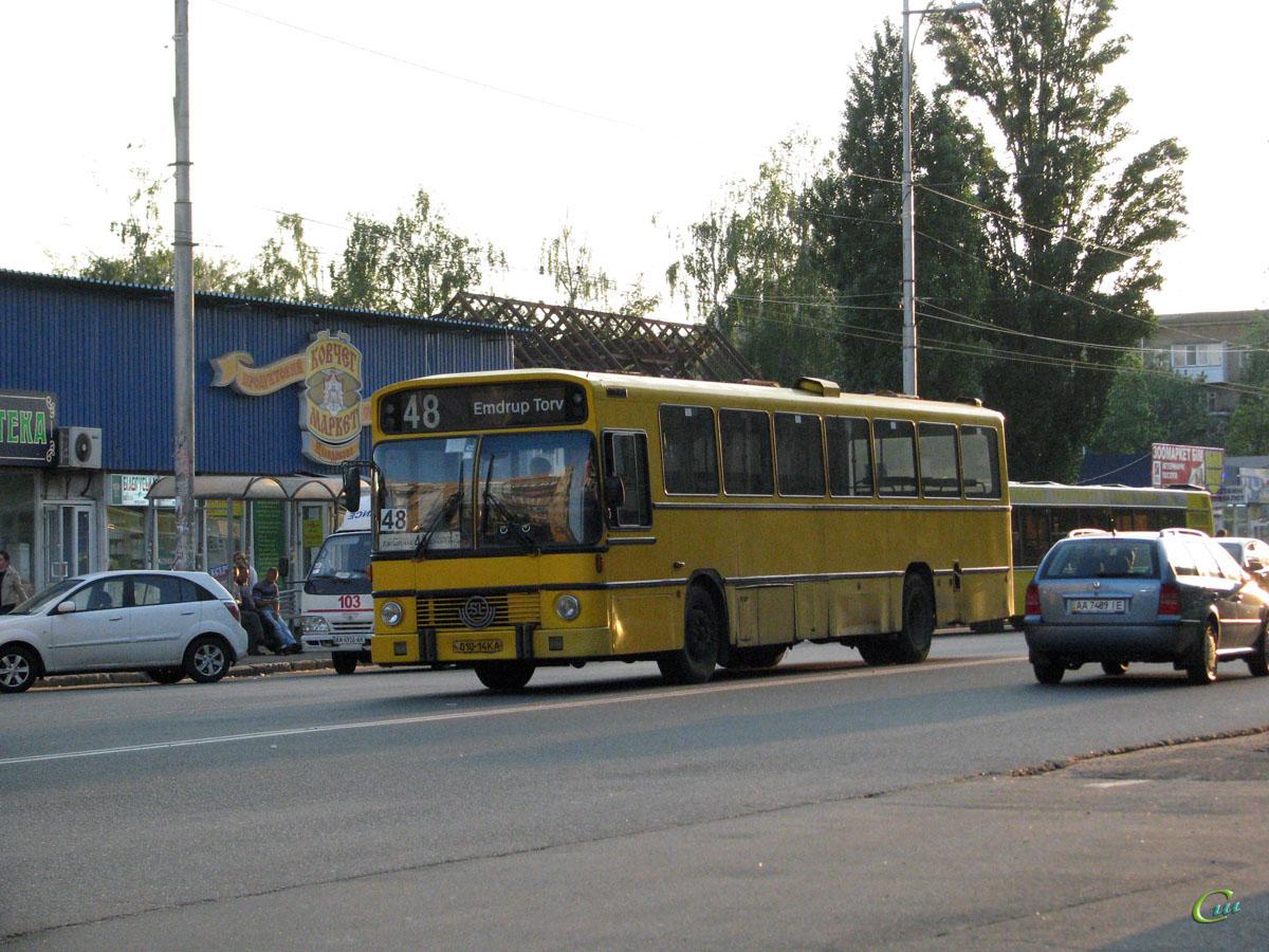 Киев. Aabenraa (Volvo B10M-60) 010-14KA