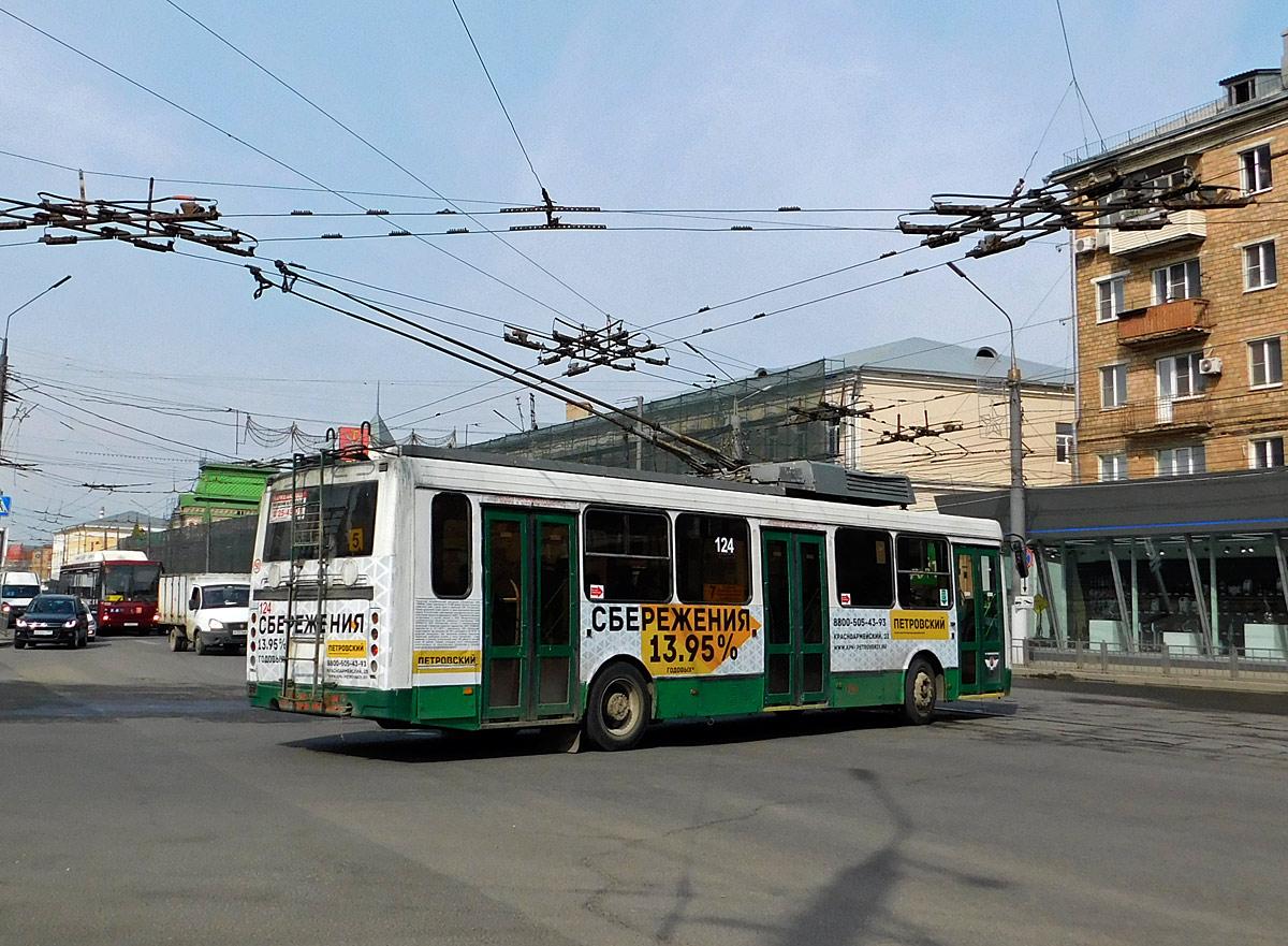 Тула. ЛиАЗ-5280 №124