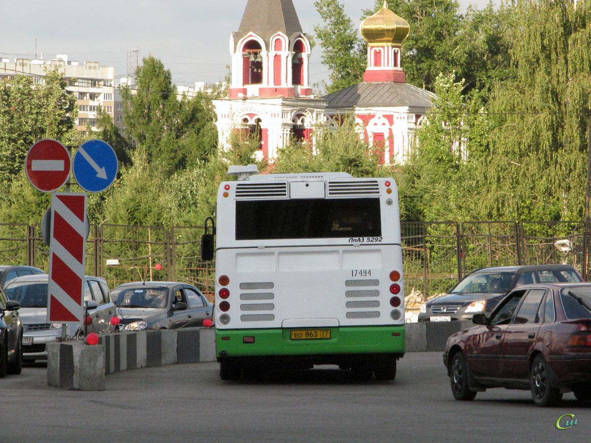 Москва. ЛиАЗ-5292.21 ео863
