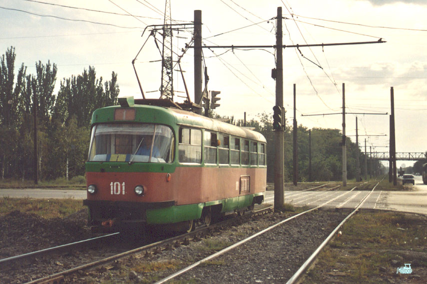 Волжский. Tatra T3SU №101
