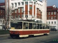 Липецк. Tatra T6B5 (Tatra T3M) №2123