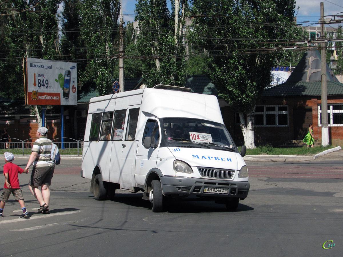 Мариуполь. Рута СПВ-17 AH8246AE