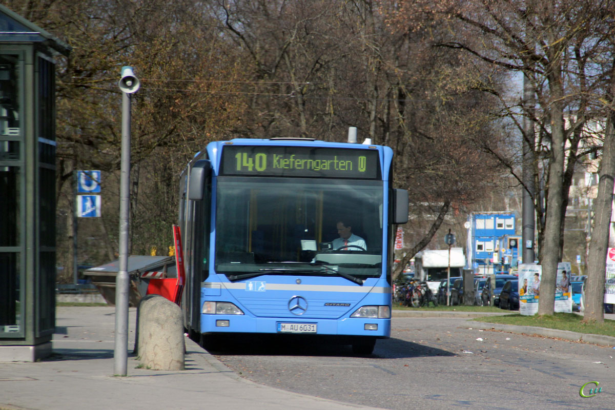 Мюнхен. Mercedes-Benz O530 Citaro G M-AU 6031