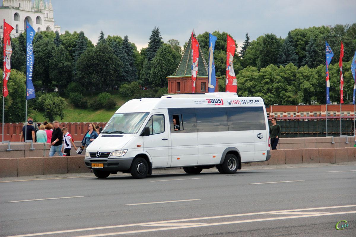 Москва. Луидор-2232 (Mercedes-Benz Sprinter) нв028