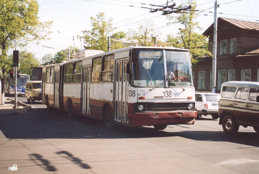 Вологда. СВАРЗ-Икарус №138