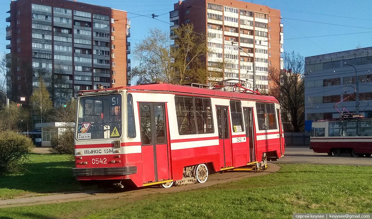 Санкт-Петербург. 71-134А (ЛМ-99АВ) №0542