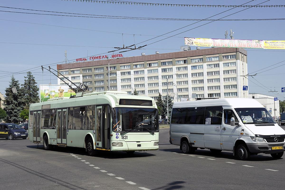 Гомель. АКСМ-321 №1831, Самотлор-НН-323770 (Mercedes-Benz Sprinter) 3TAX6636