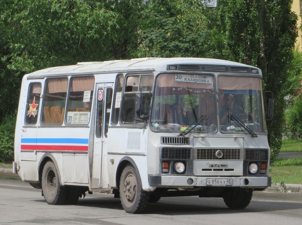 Шадринск. ПАЗ-32053-50 е856кх