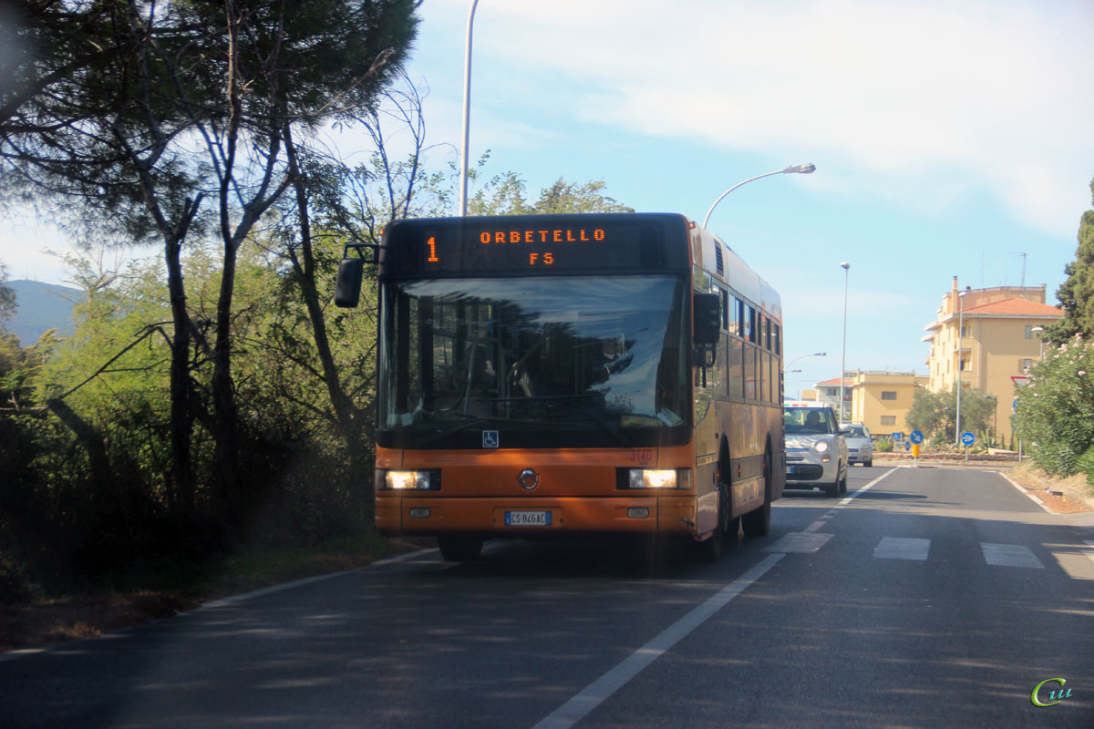 Орбетелло. Irisbus CityClass CS 846AC