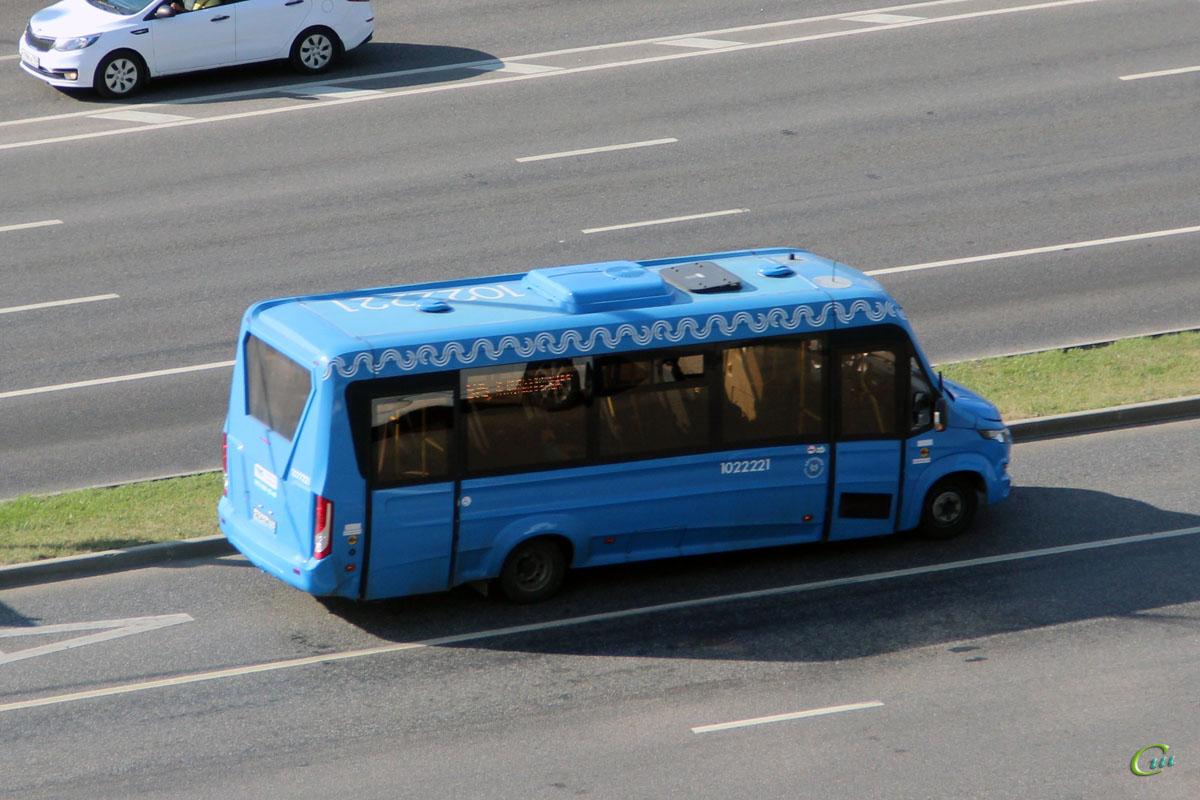 Москва. Нижегородец-VSN700 (IVECO Daily) о654тм