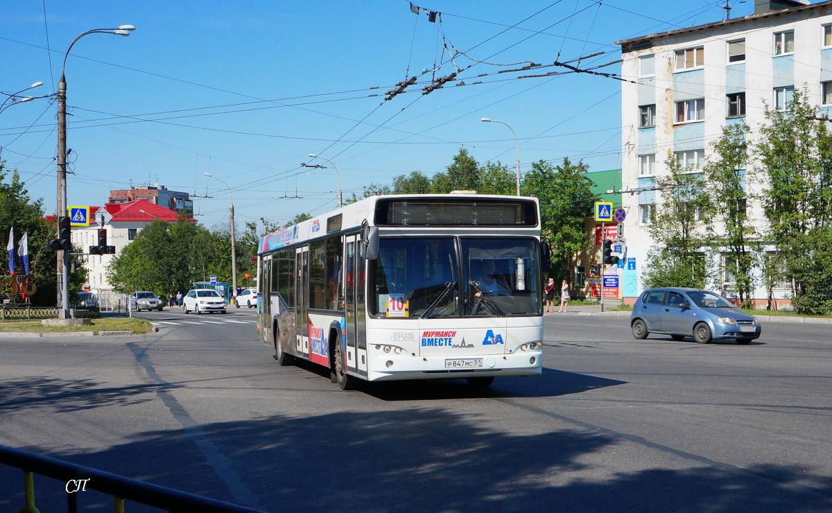 Мурманск. МАЗ-103.485 р847мс