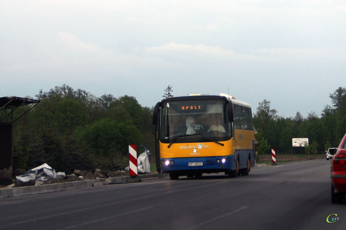 Ополе. Solbus SL10 OP 3492C