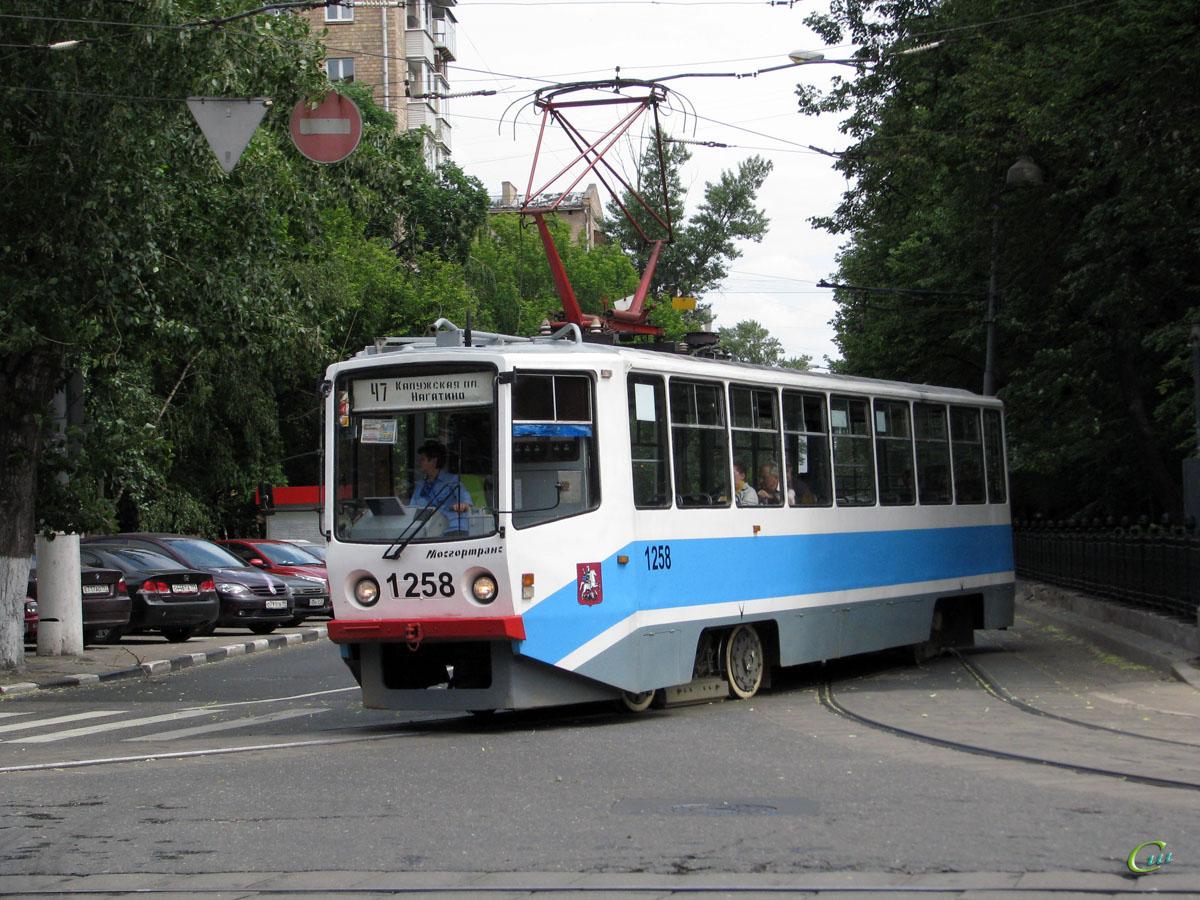 Москва. 71-608КМ (КТМ-8М) №1258