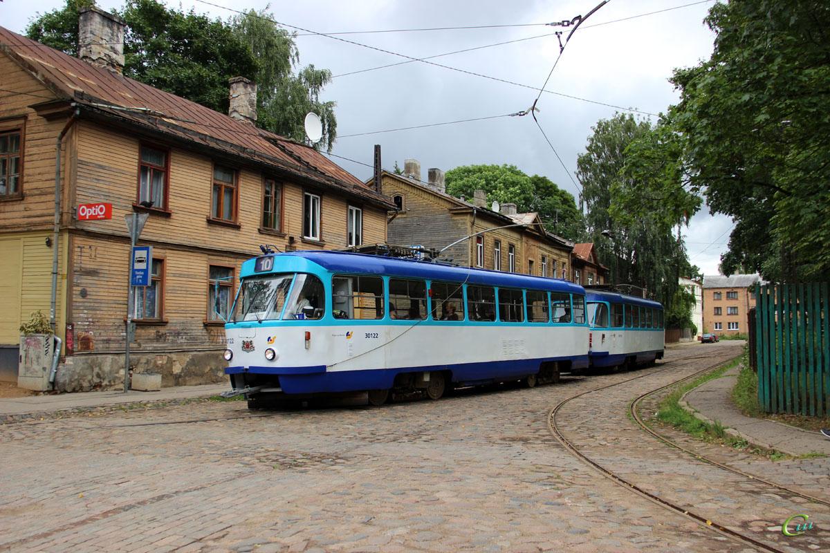 Рига. Tatra T3A №30122, Tatra T3A №30133