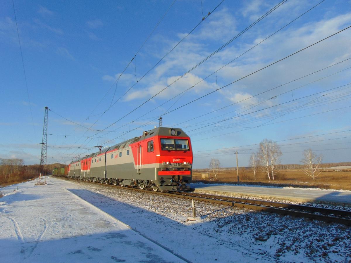 Челябинск. 2ЭС6-817 Синара