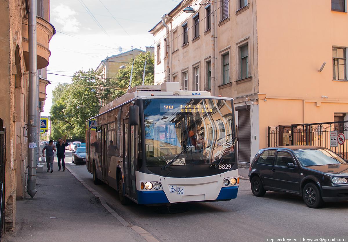 Санкт-Петербург. ВМЗ-5298.01 Авангард №6829