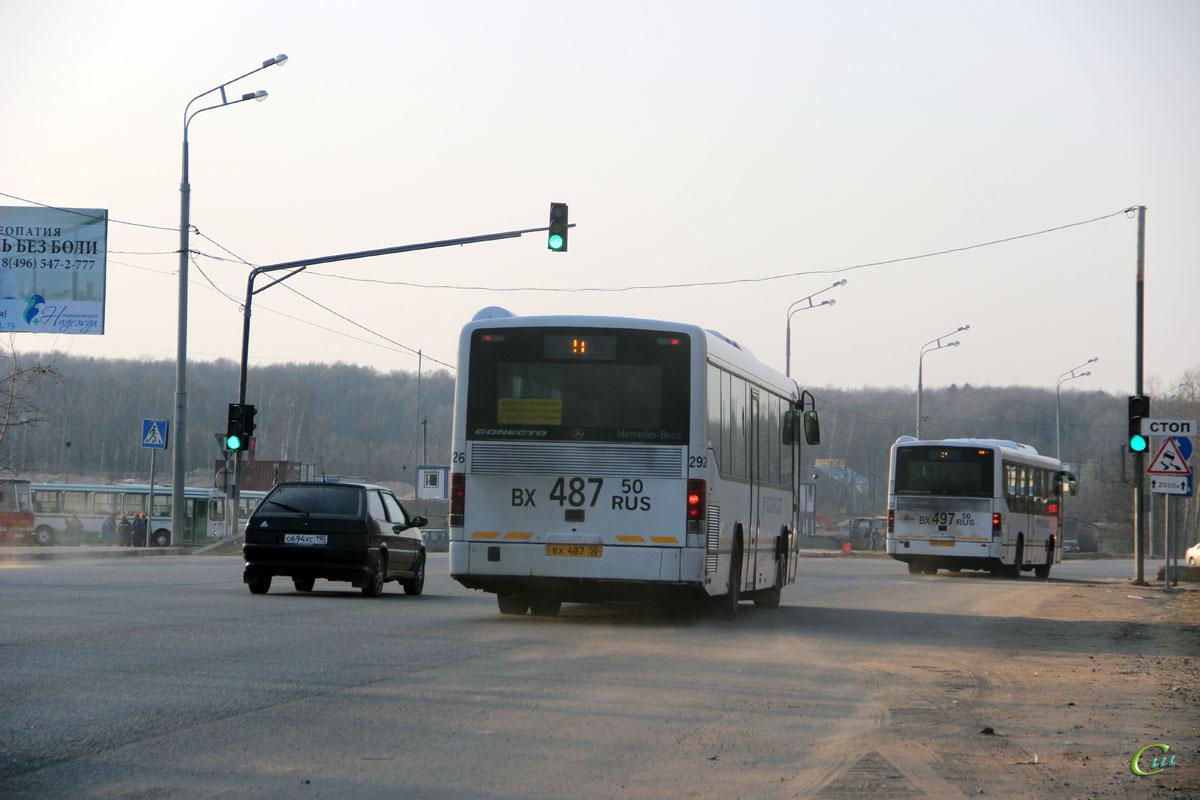 Сергиев Посад. Mercedes-Benz O345 Conecto H вх487, Mercedes-Benz O345 Conecto H вх497