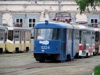Москва. Vario LF №2400, 71-619К (КТМ-19К) №2061, Tatra T3SU №0224