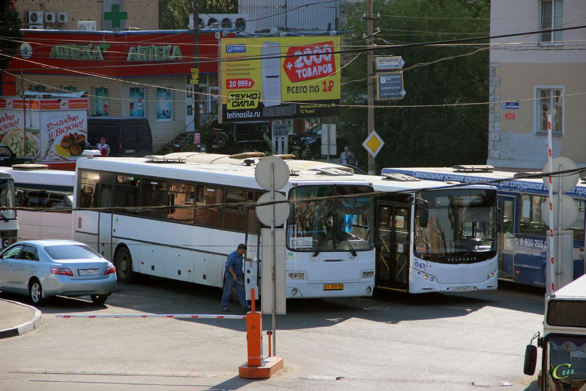 Серпухов. Volgabus-5270 е347ум, ГолАЗ-5256.23-01 еа939